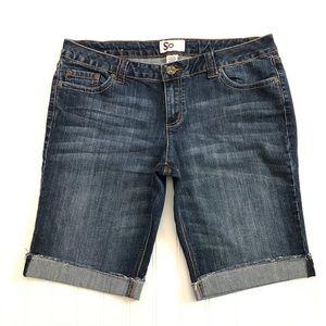 3/$20 So | Bermuda Denim Shorts Size 16